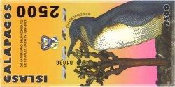 2500 Nouveaux Sucres ÎLES GALAPAGOS  2009 P.- NEUF