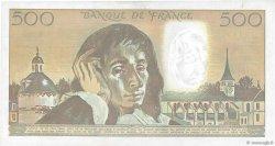 500 Francs PASCAL FRANCE  1990 F.71.45 TTB+