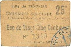 25 Centimes FRANCE régionalisme et divers  1915 JP.02-2722 TTB