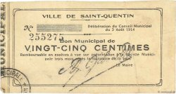 25 Centimes FRANCE régionalisme et divers  1914 JP.02-2032 TB+