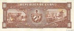 10 Pesos CUBA  1960 P.088c pr.NEUF