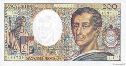 200 Francs MONTESQUIEU FRANCE  1992 F.70.12a SPL+