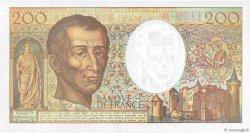 200 Francs MONTESQUIEU FRANCE  1992 F.70.12a SPL+