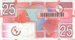 25 Gulden PAYS-BAS  1989 P.100 SUP