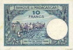 10 Francs MADAGASCAR  1947 K.804b TTB+