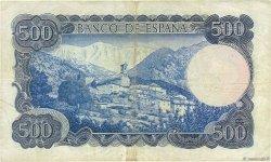 500 Pesetas ESPAGNE  1971 P.153a TTB