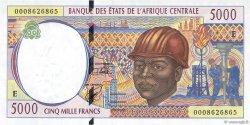5000 Francs CAMEROUN  2000 P.204Ef NEUF