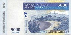 25000 Francs - 5000 Ariary MADAGASCAR  2003 P.84 pr.NEUF
