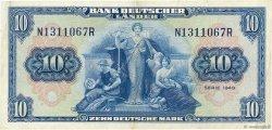 10 Deutsche Mark ALLEMAGNE FÉDÉRALE  1949 P.16a SUP