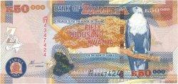 50000 Kwacha ZAMBIE  2012 P.48h NEUF