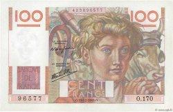100 Francs JEUNE PAYSAN FRANCE  1946 F.28.12 SPL
