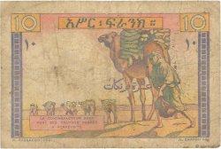 10 Francs DJIBOUTI  1946 P.19 B