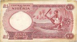 1 Pound NIGERIA  1967 P.08
