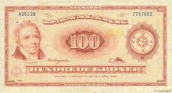 100 Kroner DANEMARK  1961 P.046b TTB