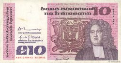 10 Pounds IRLANDE  1981 P.72a TTB
