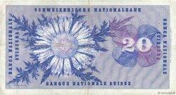 20 Francs SUISSE  1970 P.46r TTB