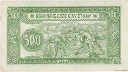 500 Dong VIET NAM  1951 P.064a SUP+