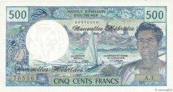 500 Francs NOUVELLES HÉBRIDES  1970 P.19a NEUF