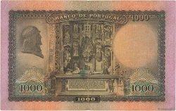 1000 Escudos PORTUGAL  1942 P.156 TTB