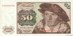 50 Deutsche Mark ALLEMAGNE FÉDÉRALE  1970 P.33a TTB+