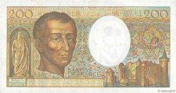 200 Francs MONTESQUIEU FRANCE  1986 F.70.06 TTB