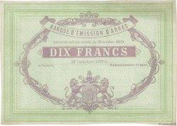 10 Francs FRANCE régionalisme et divers  1870 JER.62.02C SPL