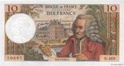 10 Francs VOLTAIRE FRANCE  1969 F.62.37 SUP+