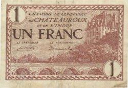 1 Franc FRANCE régionalisme et divers CHATEAUROUX 1922 JP.046.30 TB