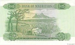 25 Rupees ÎLE MAURICE  1967 P.32b SUP
