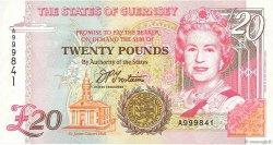 20 Pounds GUERNESEY  1996 P.58a NEUF