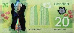20 Dollars CANADA  2012 P.New