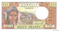 1000 Francs DJIBOUTI  1991 P.37e pr.NEUF