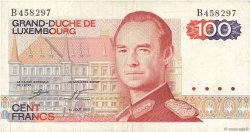 100 Francs LUXEMBOURG  1980 P.57a TTB