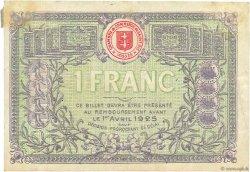 1 Franc FRANCE régionalisme et divers SAINT-DIE 1920 JP.112.19 TTB