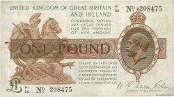 1 Pound ANGLETERRE  1928 P.361a TB