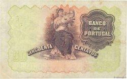 50 Centavos PORTUGAL  1918 P.112b TTB