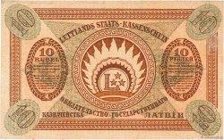 10 Rubli LETTONIE  1919 P.04f SPL