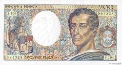 200 Francs MONTESQUIEU FRANCE  1992 F.70.12a pr.SPL