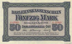 50 Mark ALLEMAGNE  1918 P.R132 SUP