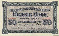 50 Mark ALLEMAGNE  1918 P.R132 SUP
