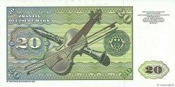 20 Deutsche Mark ALLEMAGNE  1980 P.032d pr.NEUF