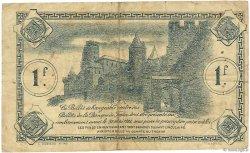 1 Franc FRANCE régionalisme et divers CARCASSONNE 1922 JP.038.21 TB