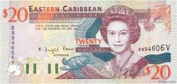 20 Dollars CARAÏBES  1994 P.33v NEUF