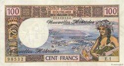 100 Francs NOUVELLES HÉBRIDES  1972 P.18b SUP