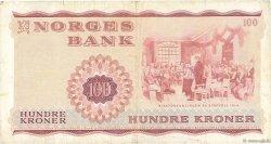 100 Kroner NORVÈGE  1973 P.38g TTB