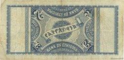 2 Thalers ÉTHIOPIE  1933 P.06 TB