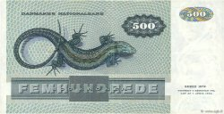 500 Kroner DANEMARK  1988 P.052d pr.SUP
