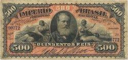 500 Reis BRÉSIL  1880 P.A243a TB