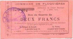 2 Francs FRANCE régionalisme et divers FLUQUIERES 1915 JP.02-0910 TTB+