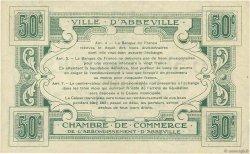 50 Centimes FRANCE régionalisme et divers Abbeville 1920 JP.001.01 SUP